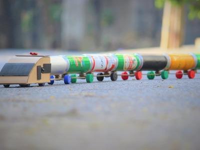 How To Make a Train - Bottle Train