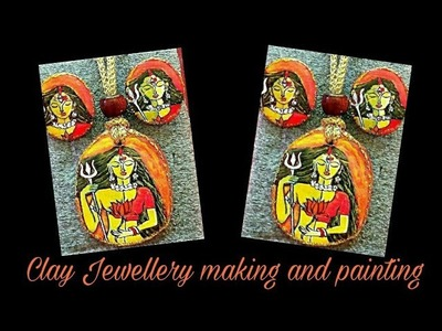 How to make and paint clay jewellery