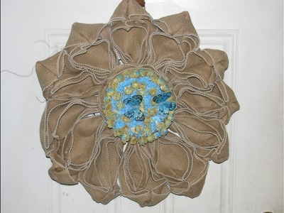 How To Make Carmen's Heavenly Pearl Victorian Flower Wreath