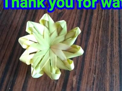 How to make Date leaf flower step by step. खजूर के पत्ते से फूल बनाना सीखे।
