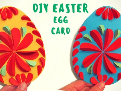 How to Make - Easy diy Easter Egg Card - Hand Made
