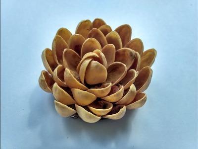 How to Make Flower Pistachio Shells (Pista Shells)