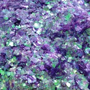 Iridescent Purple Cellophane Glitter Flakes Bag Mylar Nails Cosmetic Crafts Violet Lilac
