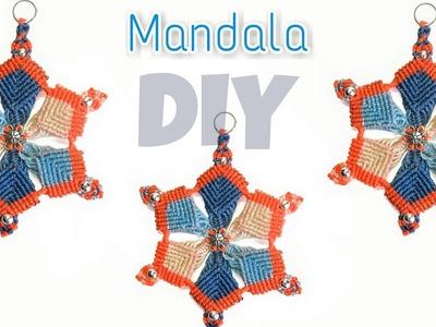 Macrame Mandala Flower DIY