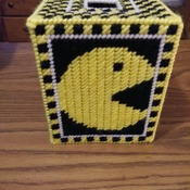 Mr. Pac-Man Tissue Box Cover