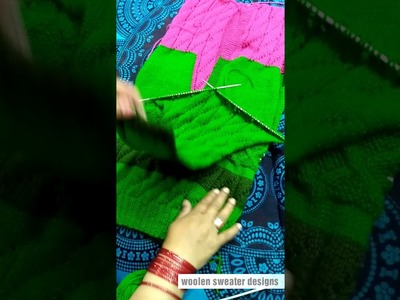 Part 3 New design for woolen sweater designs in hindi - Knitting Pattern | ladies sweater