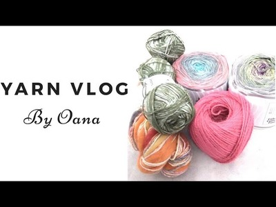 Review yarns and crochet in progress up date  By oana