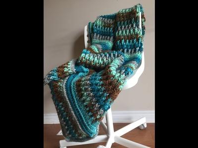 Ripple in Time Throw Companion Video - A Crochet Tutorial