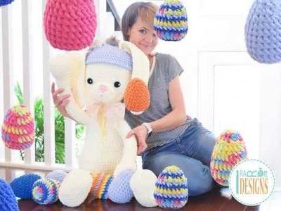 Sunny The Big Easter Bunny Crochet Pattern By IraRott