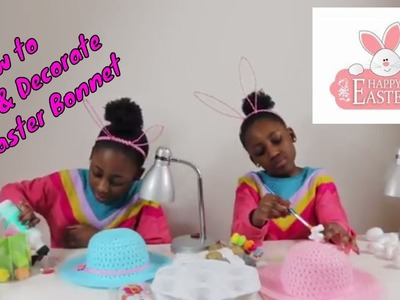 The Irefin Twins | How to Make and Decorate an Easter Bonnet and Easter Egg
