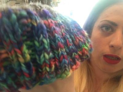 Tips for knitting or crocheting with handspun yarn.