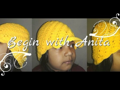 Tutorial 28- how to crochet a hat.crochet a cap.hindi