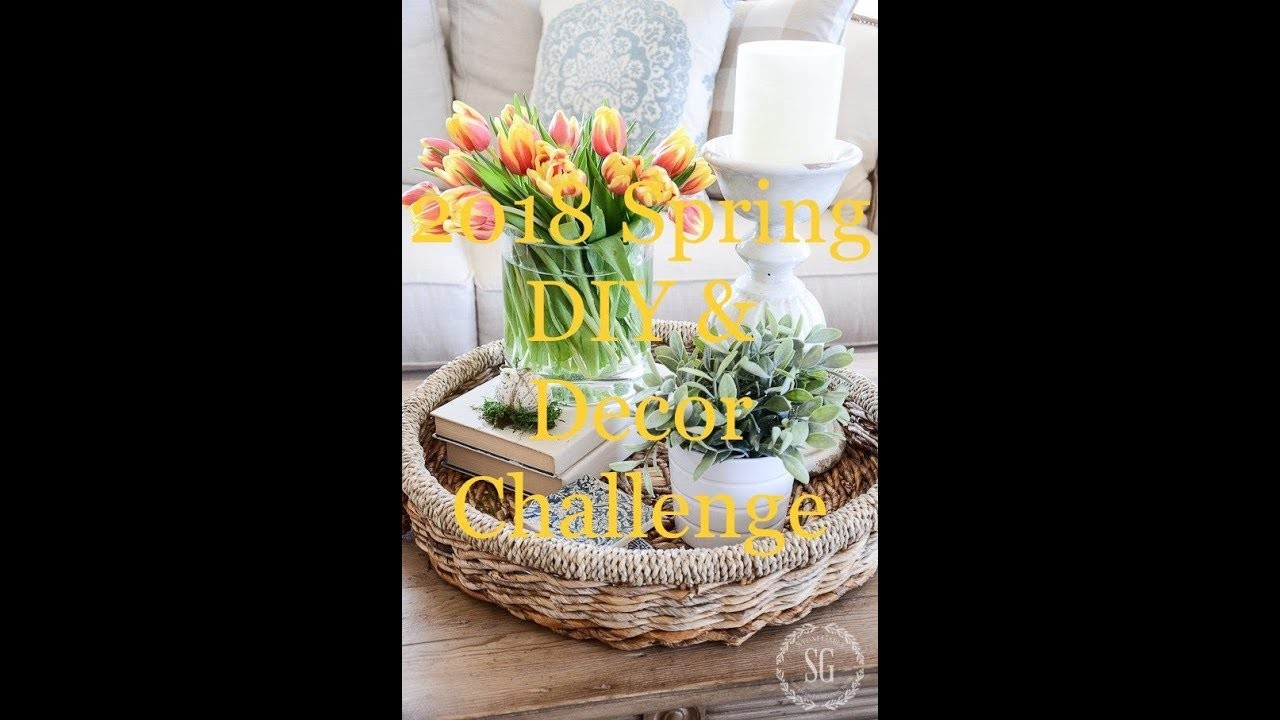 2018 Spring DIY & Decor Challenge Hosted by The DIY Mommy ????????????????