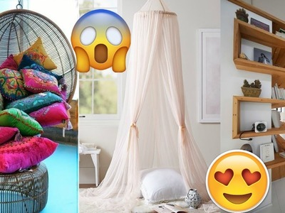 Awesome DIY ROOM DECOR! 14 Easy Crafts Ideas at Home for Teenagers 2018