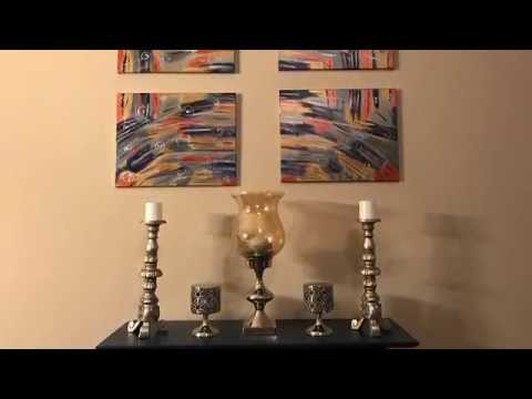 DIY Canvas Wall Art Decor