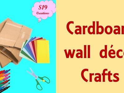 DIY Door Hanging from cardboard | easter crafts | BEST OUT OF WASTE IDEAS |  artesanato de páscoa