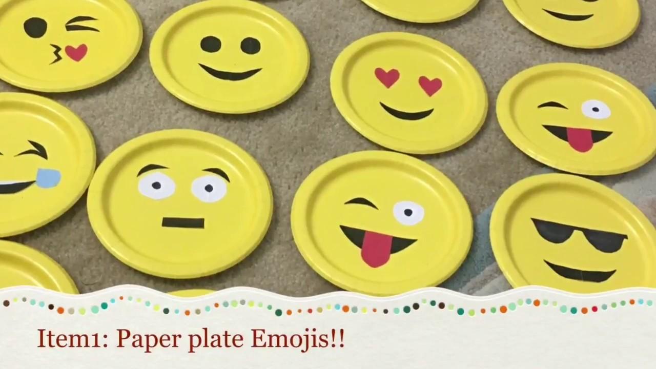 DIY Emoji Theme Party Ideas