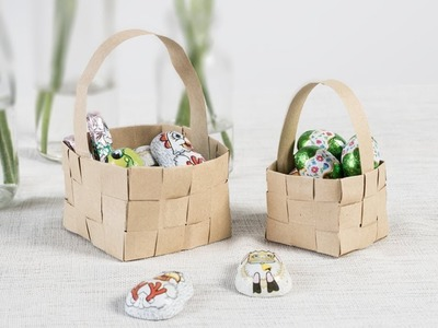 DIY : Home-weaved Easter basket by Søstrene Grene