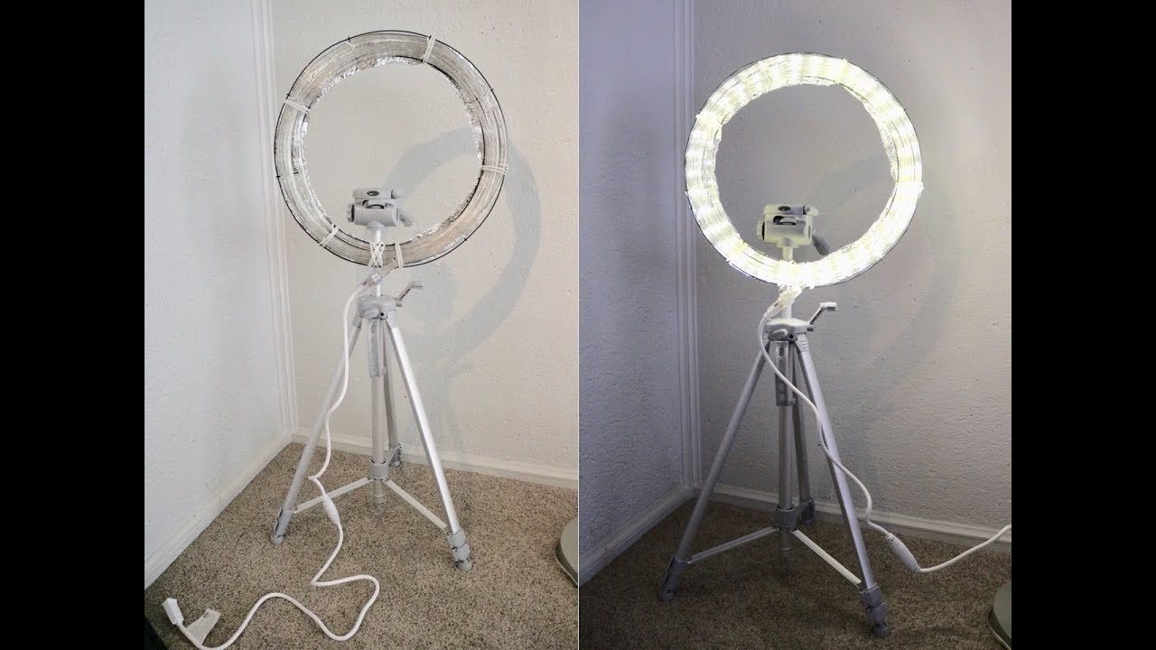 DIY Ring Light With Stand! | Very Easy!