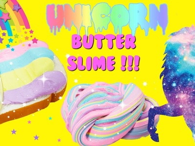 DIY Unicorn Butter Slime Easy Butter Slime Method For Kids
