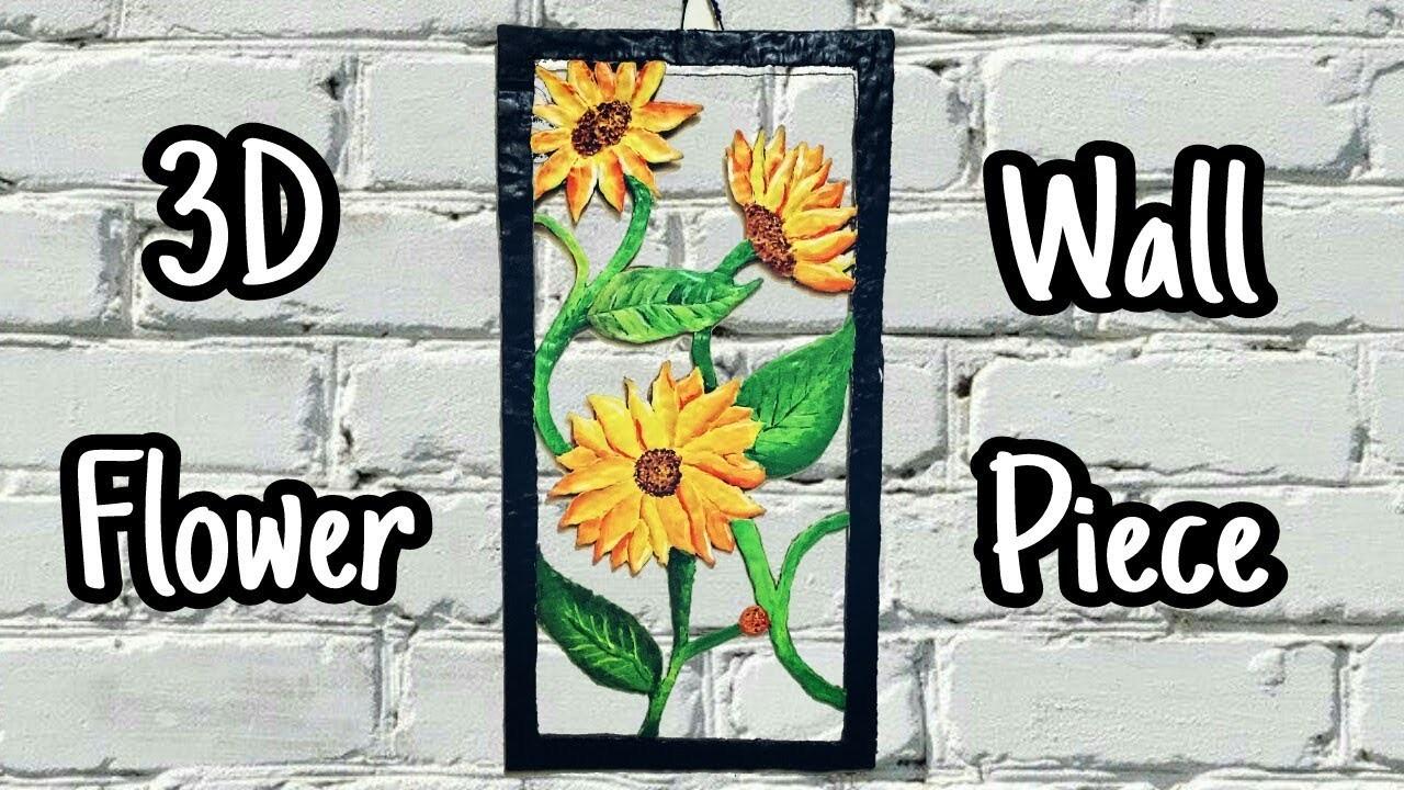 DIY Wall Showpiece Idea from Cardboard and Clay || Home Decor Wall Art || Craft Ideas ||