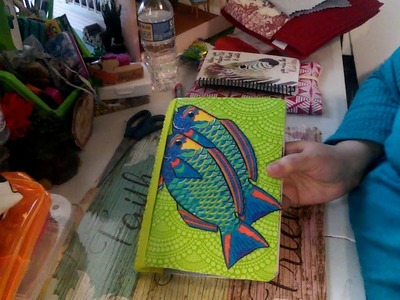 ????Dollar Tree DIY My First Travelers Notebook????
