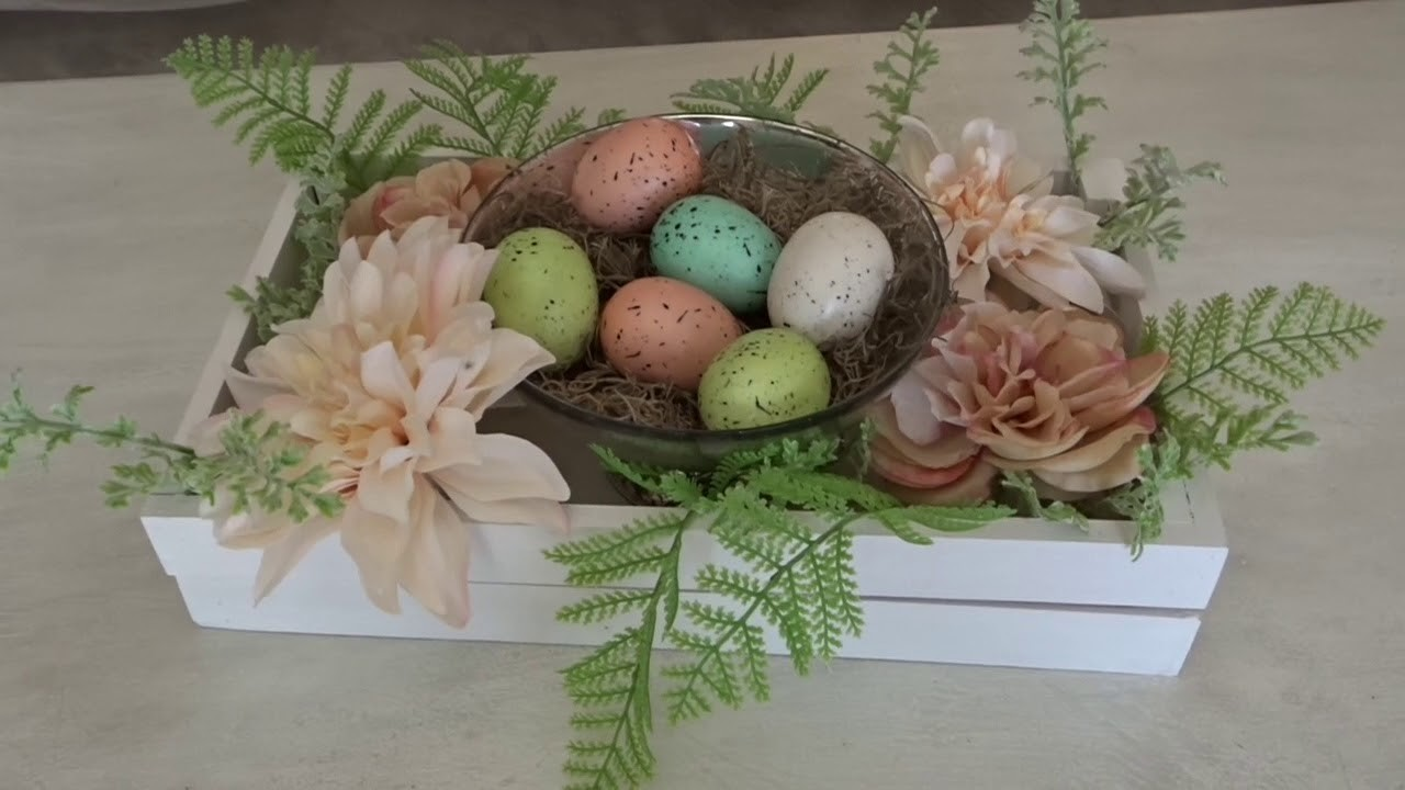 EASTER HOME DECOR TOUR (H0STED BY THE DIY MOMMY)