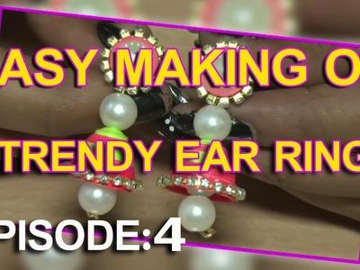 Easy Crafts #4 | Simple Making Of Cute Paper Earrings | Kai Tv Media