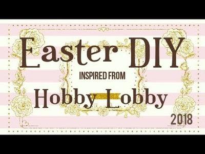 Easy Peasy Hobby Lobby Inspired DIY