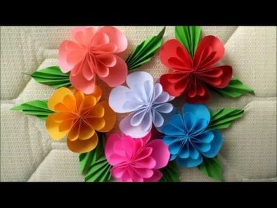 Easy to make Beautiful Paper Flowers