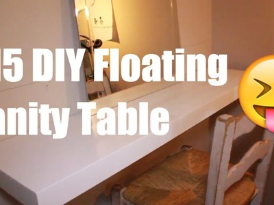 Floating Vanity DIY