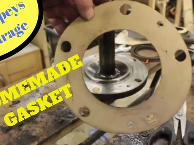 How to make a paper gasket old school