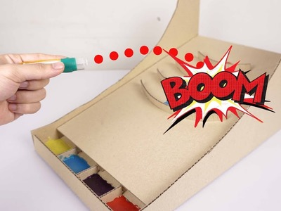 How To Make Amazing Marble Popper Game from Cardboard