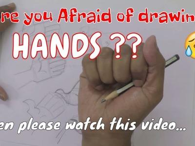 How to make Cartoon Hands Part 1   Drawing tutorials   Character Design   RinkuArt