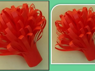 How to make easily folded petal flower out of paper