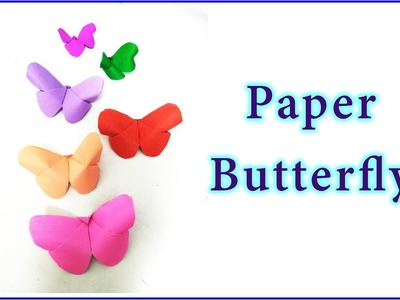 How to make paper butterfly || Origami || kids crafts