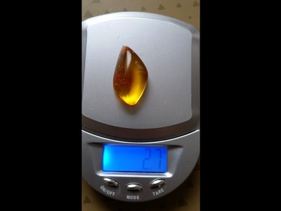 HOW TO POLISH AMBER BY HAND