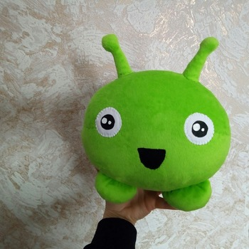 Mooncake  Final Space plush, mooncake toy made from picture