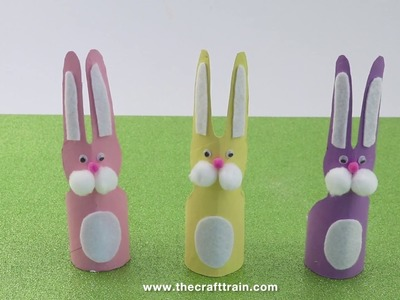 Paper Roll Easter Bunnies