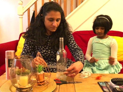 Saturday Fun Vlog With Kids (Making DIY HOME DOCOR)