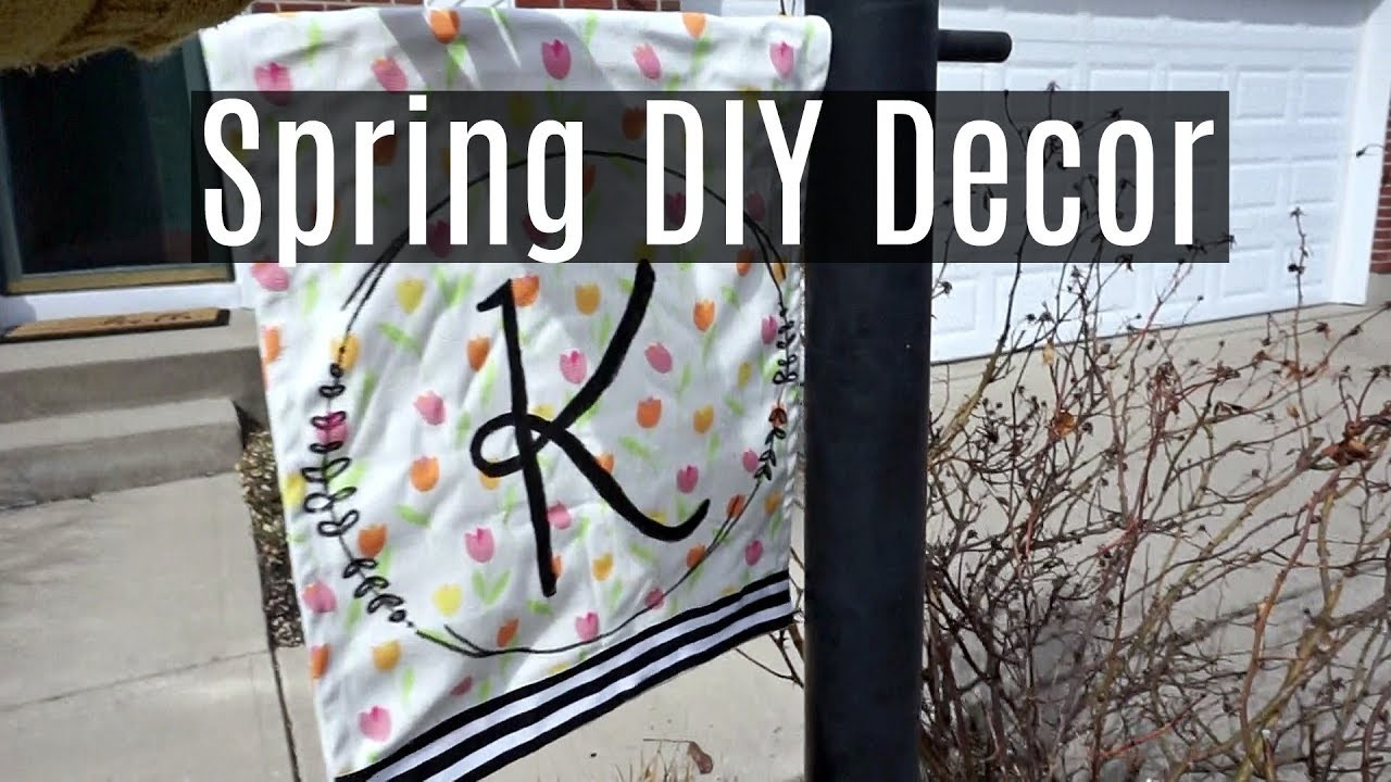 Spring DIY Decor Challenge: Repurposing Clutter