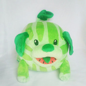 Watermelon dog, Steven Universe, commissioned plush, Watermelon Puppy, commissioned plush