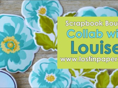 Altenew - Flower Arrangement Collaboration with Louise at Scrapbook Boutique! Part 1