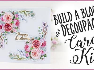 Build A Bloom Decoupage Card Kit