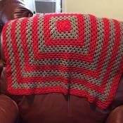 Crochet Lap Afghan