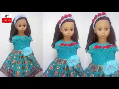 Diy baby frock cutting and stitching use dupata and shirt