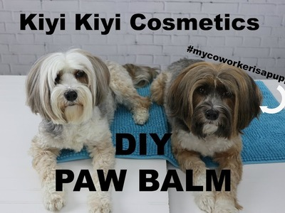 DIY Dog Paw Balm or Wax - Make Your Own!