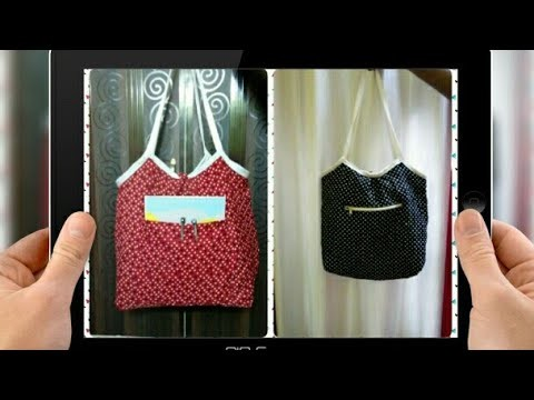 DIY : How To  Sew Easy Reversible Tote Bag By Anamika Mishra. .
