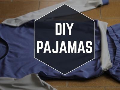 DIY Pajamas. DIY pyžamo