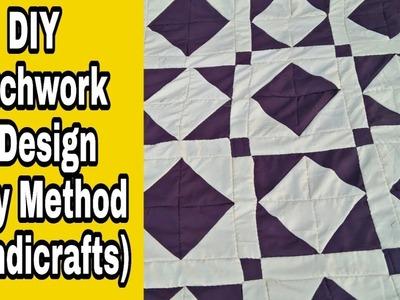 DIY PATCHWORK NEW DESIGN || Rilhee Making || Handmade Easy Method #handicrafts